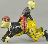 Guenthermann Tin-Figures Mutt & Jeff lithographed tin...