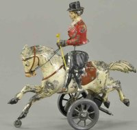 Unknown Tin-Figures Woman riding side-saddle, made in...