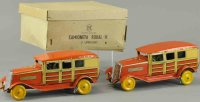 Matarazzo Tin-Oldtimer Boxed set of two autos, made in...