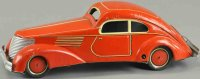Guenthermann Tin-Cars Wind-up coupe, nice lithographed...