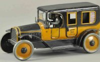 Bub Tin-Oldtimer Yellow taxi,  a very rare example, done...