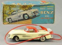 Nomura Toys Tin-Cars Battery operated Mercedes Benz,...