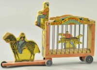 Bliss Rufus Wood-Carriages Menagerie wagon, early...