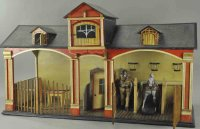 Hacker Christian Dollshouses -Accessories Stable with...