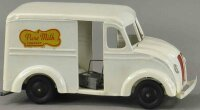 Keystone Tin-Trucks Pure milk truck, in white with black...
