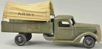 Buddy L Military-Vehicles Army truck with plane lettering...