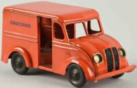 Kingsbury toys Tin-Trucks Grocery truck, painted in...