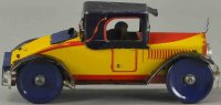 Marx Tin-Race-Cars Racer coupe with driver, lithographed...