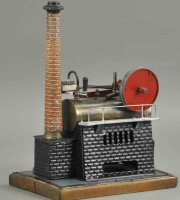 Bing Steam Engines-stationary-Lokomobile Overtype...