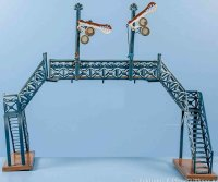 Maerklin Railway-Gangways Signal bridge, transitional...
