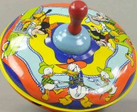 Chein Co. Tin-Toys Plunger top of lithographed tin, with...