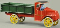 Dent Hardware Co Cast-Iron trucks Oversized dump truck,...