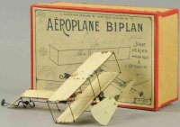 Maugin Louis Tine Ariplanes Aeroplane Biplan #83 with...