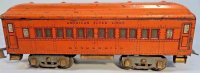 American Flyer Railway-Passenger Cars Pullman car #4141...