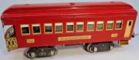 Lionel Railway-Passenger Cars Observation car #338.6 with...
