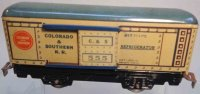 Marx Freight Wagons 555