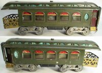 Lionel Railway-Passenger Cars Observation car #190.2 with...