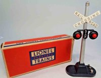Lionel Railway-Signals Automatic highway signal #154.1...