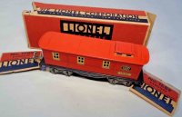 Lionel Railway-Freight Wagons Caboose #1682X.3 with eight...
