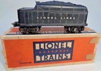 Lionel Railway-Tender Plstic body tender #2226W with...