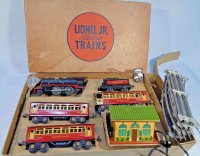Lionel Railway-Trains Boxed Lionel Jr. Passenger set...
