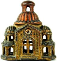 Williams AC Cast-Iron-Mechanical Banks Two tone Mosque...