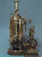 Plank Ernst Steam-Toys-Vertical-Steam-Engines Marine...