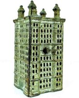 Williams AC Cast-Iron-Mechanical Banks Four Tower...