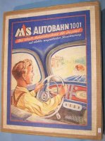Seidel Michael Tin-Toys Autobahn #1001, car game, driving...
