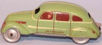 Tippco Tin-Cars Small sedan, eagle car, made of tin with...