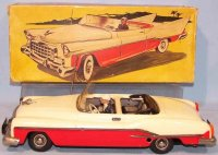 Guenthermann Tin-Cars Cabriolet with push automatic and...