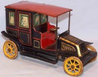 Bing Tin-Oldtimer Traveling limousine with clockwork,...