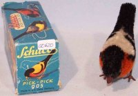 Schuco Tin-Animals Pick-Pick bird #905 in original box,...