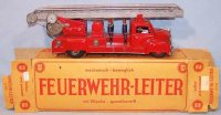 Guenthermann Tin-Fire-Truck Fire ladder car #838 in...