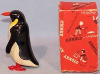 Arnold Tin-Animals Penguin #100 in original box, with...