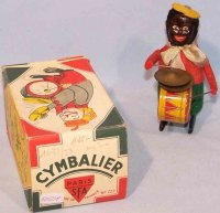 SFA Tin-Dance Figures Colored man with timpani and...