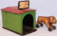 Unknown Tin-Figures Boxer with doghouse with tensioning...