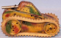 Kellermann Military-Vehicles Sparkling tank #340 with...