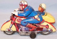 Huki - Kienberger Tin-Motorcycles Traveling motorcyclist...