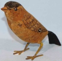Schuco Tin-Animals Bird with clockwork, made of sheet...