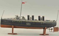 Maerklin Tin-Ships Torpedo battlesship, the  boat has a...