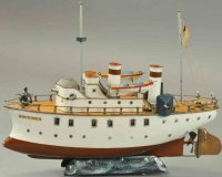 Maerklin Tin-Ships Battleship Bouvines, a beautiful...