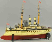 Maerklin Tin-Ships Large battleship Majestic, high detail...