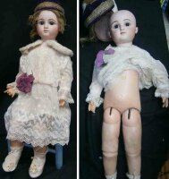 Steiner Jules Nicholas Dolls French bebe doll #C-7 with...