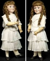 Simon & Halbig Dolls Bisque socket head doll #1388 S&H 12...