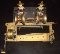 Ullman Charles Tin-Automata Music boX automaton with two...