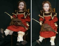 Marseille Armand Dolls Bisque head doll, she has light...