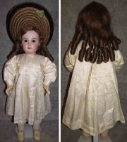 Jumeau Dolls Bisque head doll #E14J, original antique...