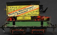 Maerklin Railway-Freight Wagons Furniture car #1877/0...