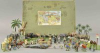Britains Ltd. Toy Tin-Figures Boxed Zoo and Civilian set...